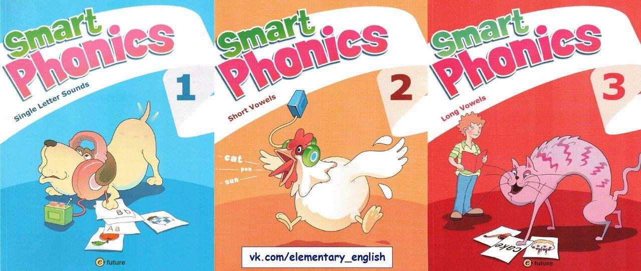 Smart Phonics 1,2,3 Single Letter Sounds, Short and Long Vowels