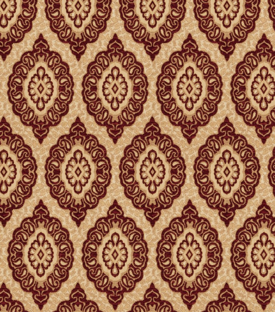 Eaton Square Upholstery Fabric 57 Player Crimson Upholstery