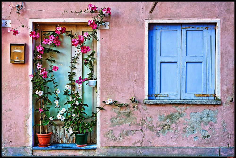 Old Window and Door in Caorle by Cristian P on 500px