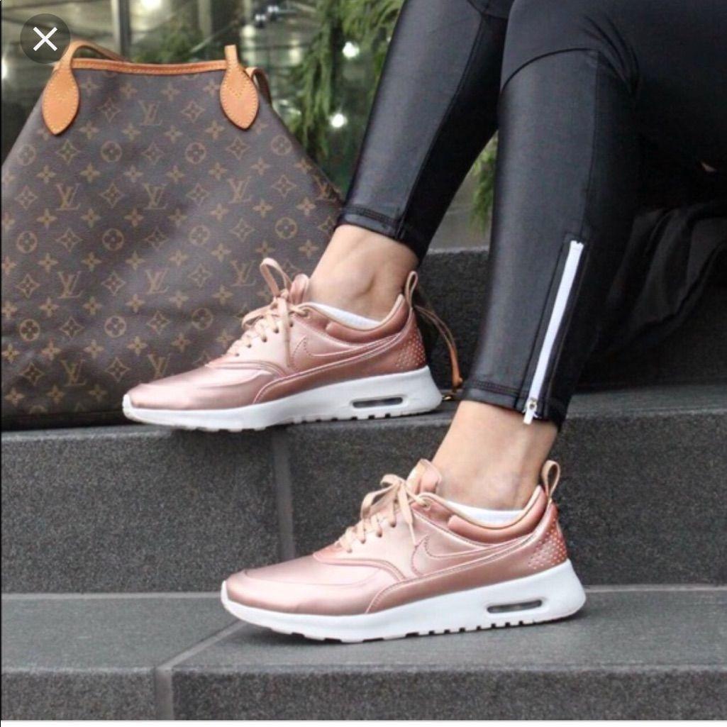New Nike Air Max Thea Rose Gold