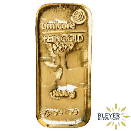 1kg Umicore Cast Gold Bar Silver Coins For Sale Gold Bullion Gold Mani