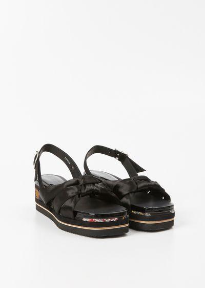 Cross Strap Sandals - IT36 / Black Dries Van Noten Iqbm1D8rk