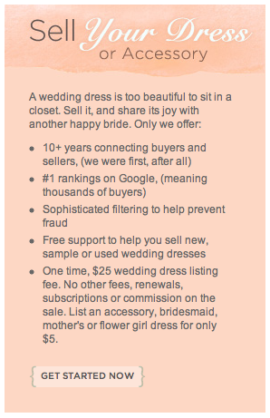 How to Sell Your Wedding Dress & Make Half of Your Money Back ...