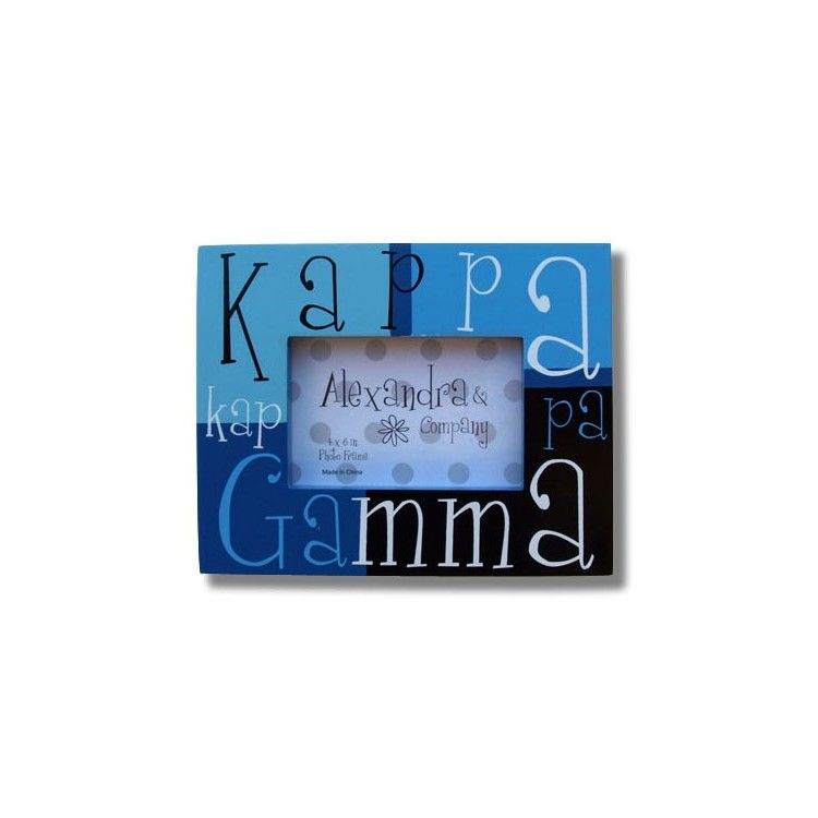 Kappa Kappa Gamma Frame Block Available Now From