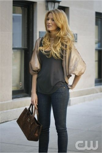 """Must  I Do About Nothing ""-- Pictured  Blake Lively as Serena in GOSSIP GIRL on The CW. PHOTO CREDIT: Giovanni Rufino/ THE CW ©2008 THE CW NETWORK, ALL RIGHTS RESERVED."
