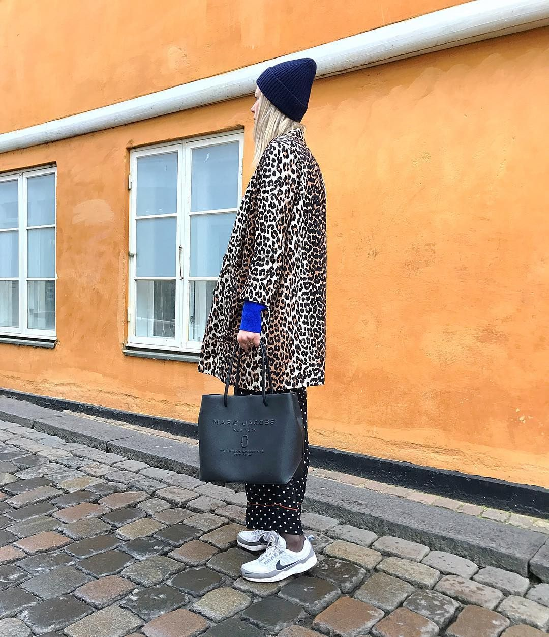 4785f8942f40 Maria Kaas spotted with our Marc Jacobs Logo Shopper East-West Tote ...