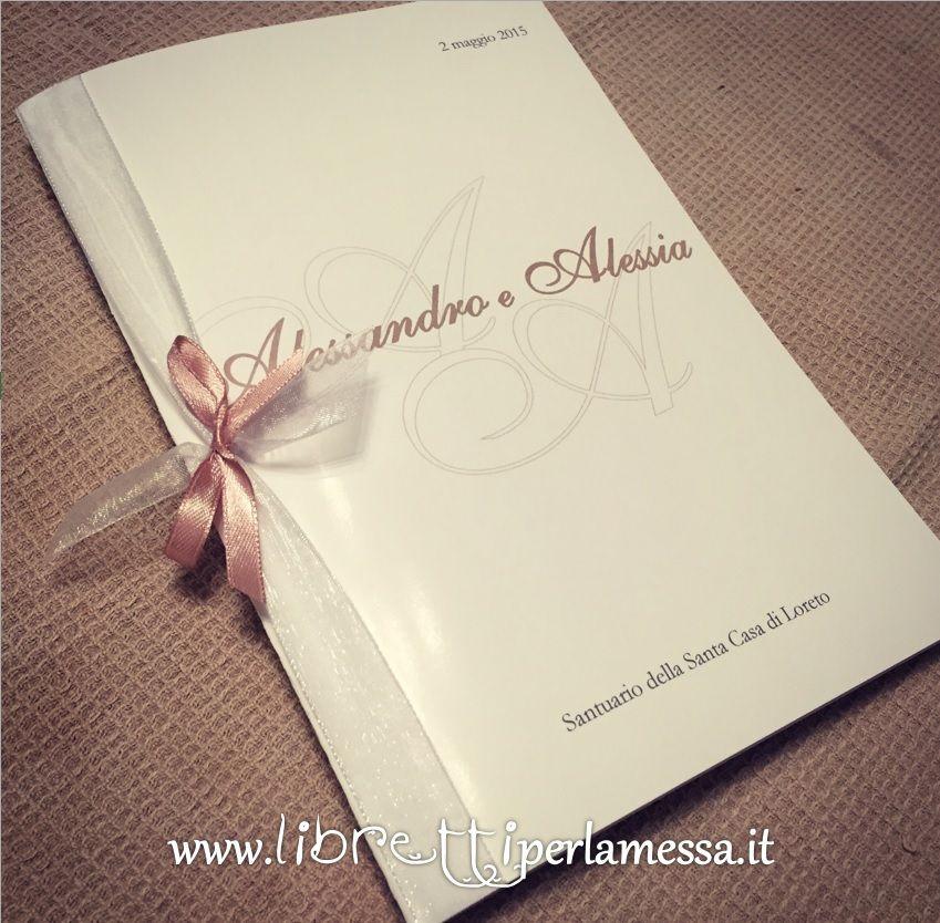 Segnaposto Matrimonio Word.Copertina Libretto Matrimonio Da Scaricare Db72 Casamento