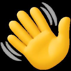 Waving Hand Sign Emoji Hand Emoji Wave Emoji Emoji