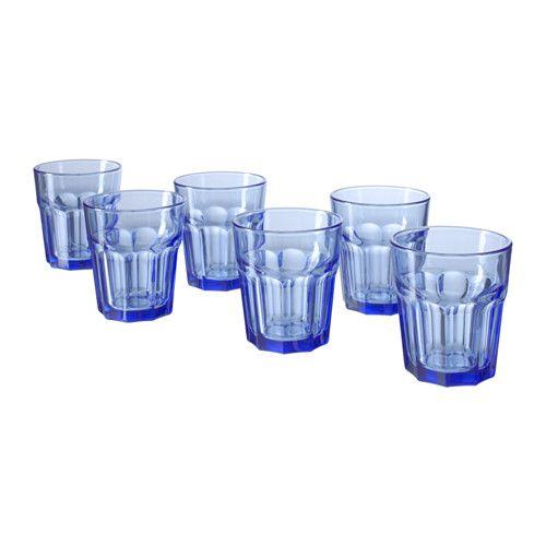 IKEA - SOMMAR 2016, Glas, Ook geschikt voor warme dranken.Gehard glas, waardoor het glas extra bestand is tegen stoten en daardoor slijtvast is.