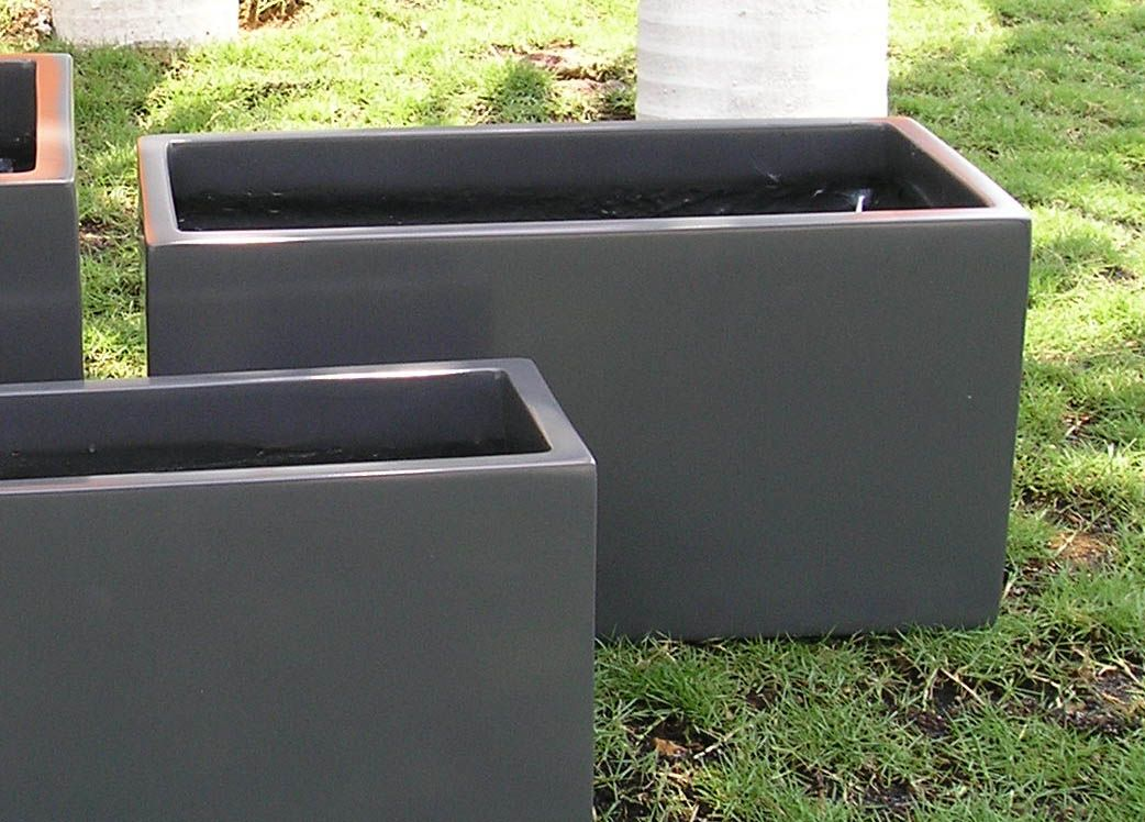 have andrew build large planter box Concrete planters