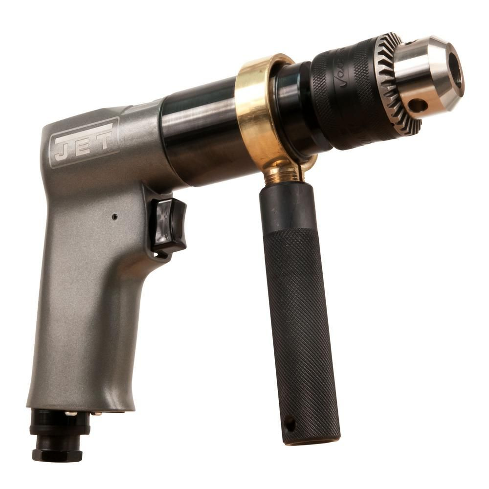 Jet R6 Jat 601 1 2 In Reversible Air Drill 505601 Drill Air Tools Drill Driver