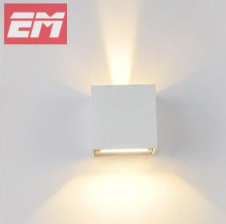 Bathroom Light Ip65 ip65 waterproof led wall sconce 100 100 100mm white abs up down