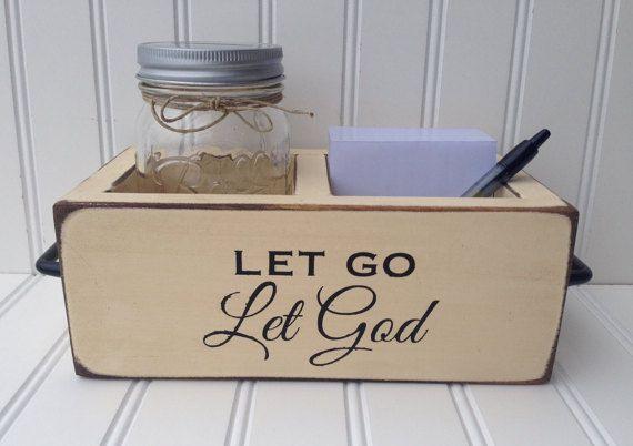 Prayer Box God Box Surrender Jar Prayer Jar 12 Step Tool