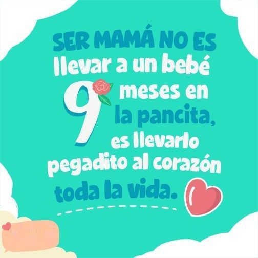 Frases Para Bebes Mother Day Pinterest Spanish Quotes Happy