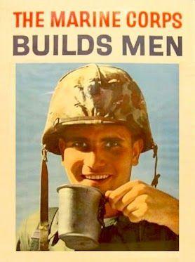 A Vietnam War Era Marine Corps Recruiting Poster Military Poster Marine Corps Recruiting Marine Poster