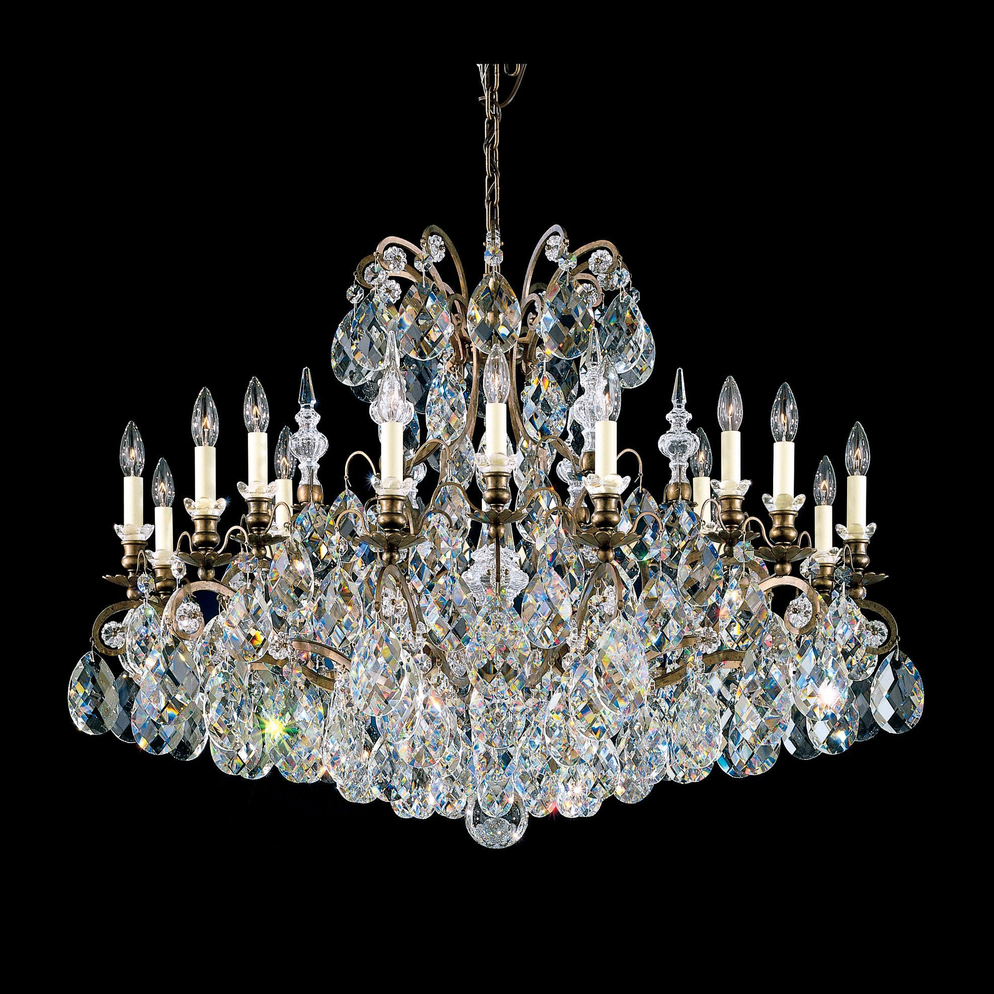 Maria Theresa 17 Light Crystal Chandelier