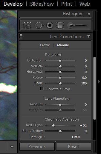 Lens profiles for lightroom