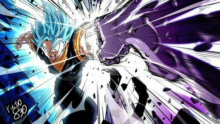 Vegetto In 2020 Dragon Ball Artwork Dragon Ball Anime Dragon Ball Super