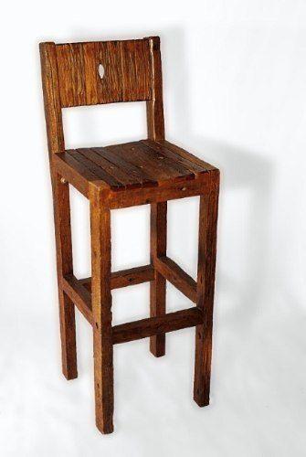 Muebles De Campo: Banqueta Alta De Bar | Muebles madera | Pinterest ...
