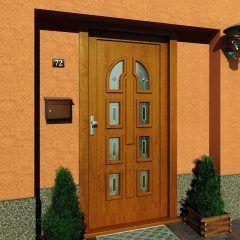 Plastic entrance door Leona – Premium | PERITO