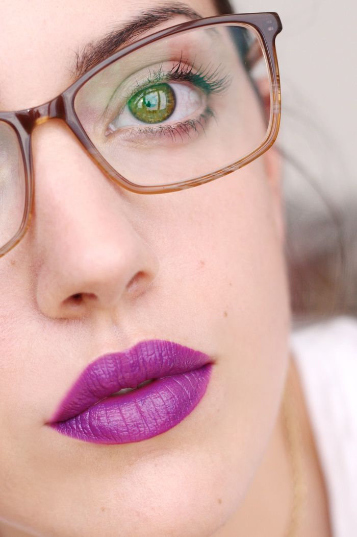 H&M Creamy Lip melt purple patch