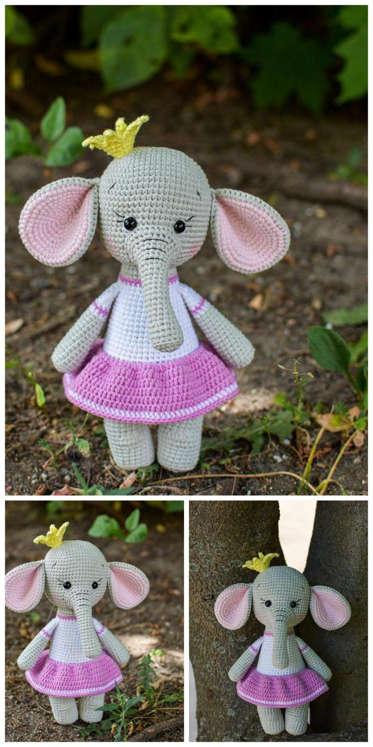 Best Amigurumi Crochet Elephant Patterns - Amigurumi #crochetelephantpattern Best Amigurumi Crochet Elephant Patterns - Amigurumi #crochetelephantpattern