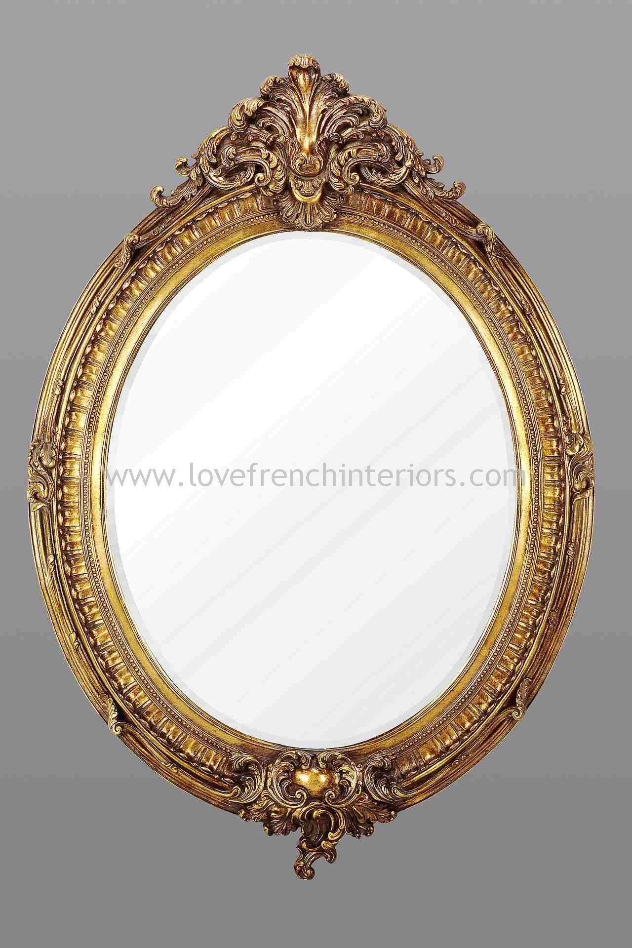 gold-oval-french-mirror-1027-p.jpg (1280×1920) | Mirror | Pinterest ...