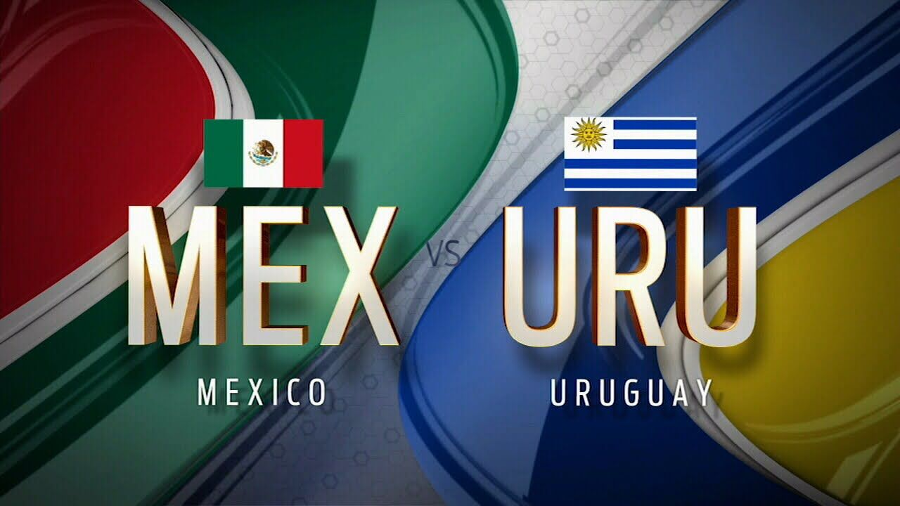 Image result for Mexico vs Uruguay