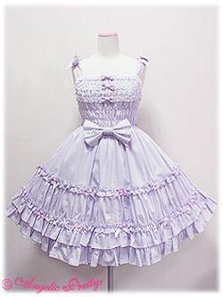 Angelic Pretty - Whip Shirring JSK /// ¥23,940 /// Bust: 74cm+ Waist: 64cm+ Length: 88cm