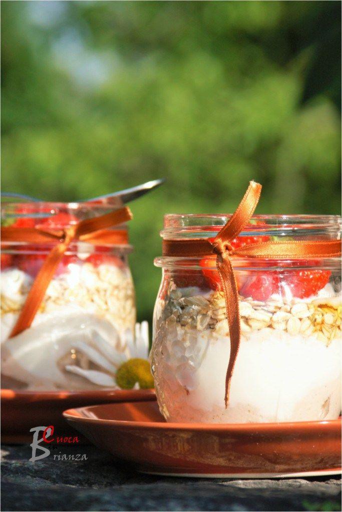 VASETTO di Yogurt, fragole e miele | cuoca nella brianza