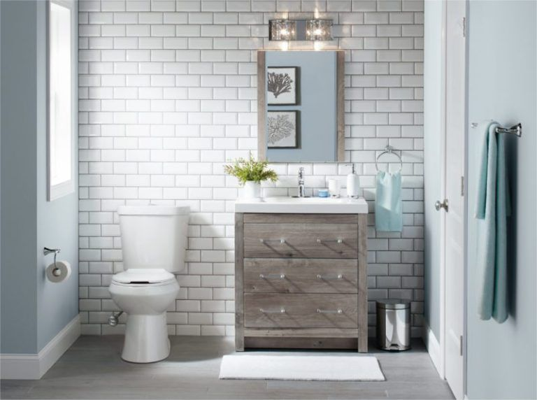 30 Bathroom Floor Tile Ideas To Inspire You Bathroom Floor Tiles Half Bathroom Design Ideas Tile Bathroom