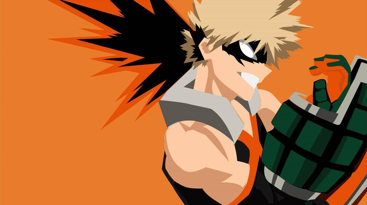 Boku No Hero Academia Katsuki Bakugo By Kreiios Hero Wallpaper Anime Canvas Anime Background
