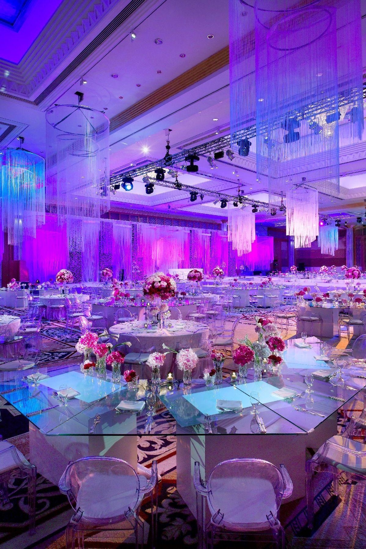 The spectacular Baniyas Ballroom at Grand Hyatt Dubai offers an ...