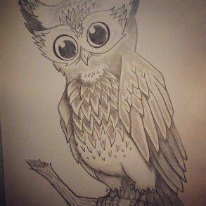 Owldrawing Owls Drawing My Drawings Drawings