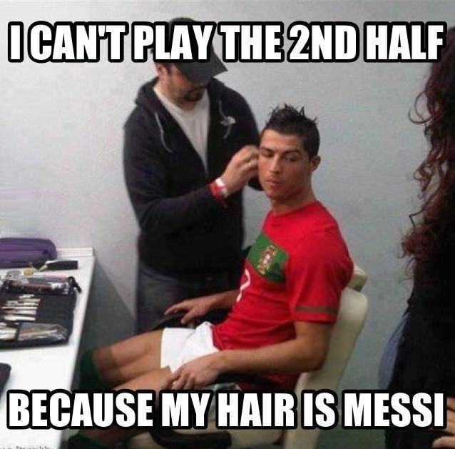 Ronaldo's greatest fear  - funny pictures #funnypictures