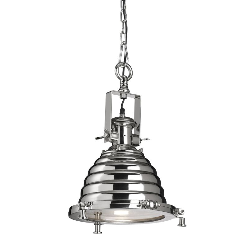 andy thornton lighting. Industrial Pendant In Nickel Finish | Lighting Andy Thornton