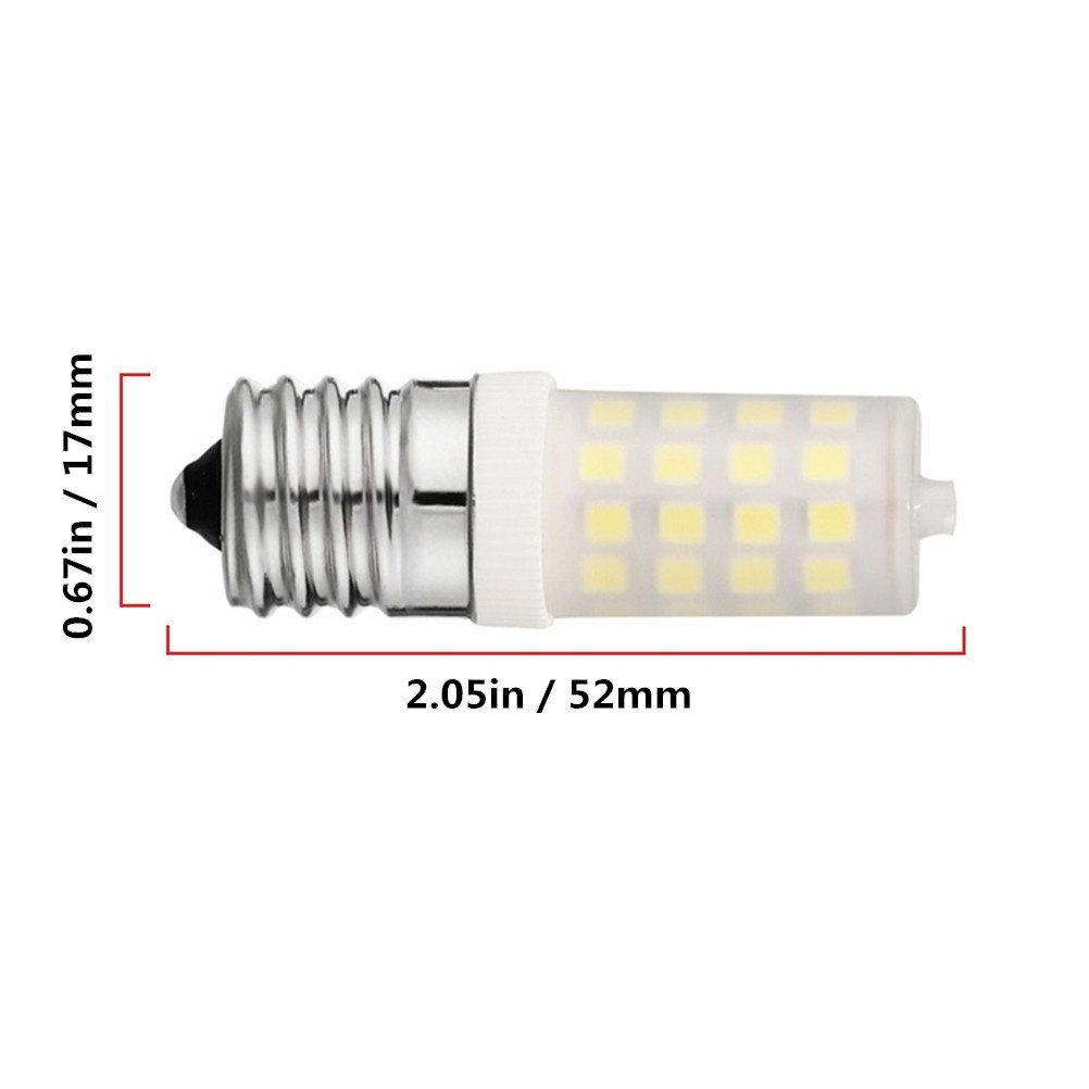 E17 Led Microwave Bulb Dimmable Zszt 5 Watt Daylight White 6000k Milky White Pc Cover Outside Ac110130v Pack Of 2 Want To Know More Bulb Light Bulb Led