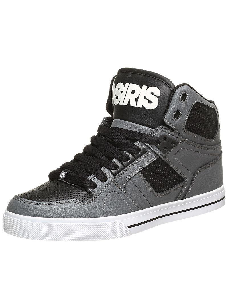 Osiris D Shoes Black Charcoal Yellow