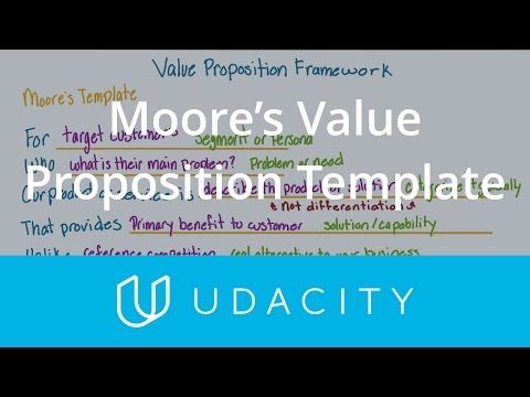 Moore\u0027s Value Proposition Template Understand the User App