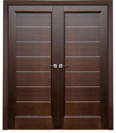 modern door | Latest Wooden Main Double Door Designs - Native Home ...