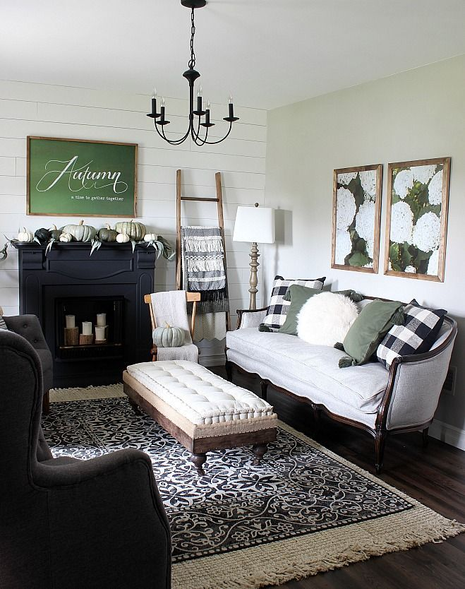 2018 Fall Home Tour - Living Room and Dining Room images