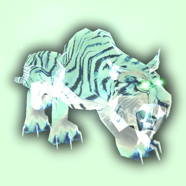 Petopia Green Spectral Saber Tiger World Of Warcraft Pets Beast