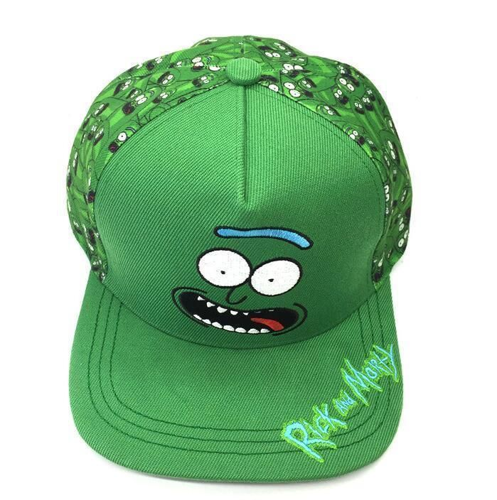 Rick and Morty Pickle Embroidery Adult Hip Hop Snapback Hat Adjustable Cap  New  fashion  clothing  shoes  accessories  mensaccessories  hats  ad (ebay  link) 09916a9861cd