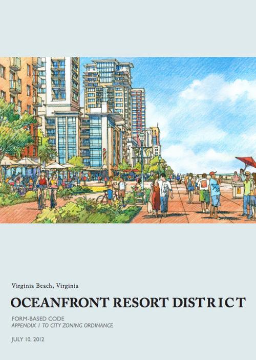 Virginia Beach Resort District Form-Based Code (Click to open) | Art