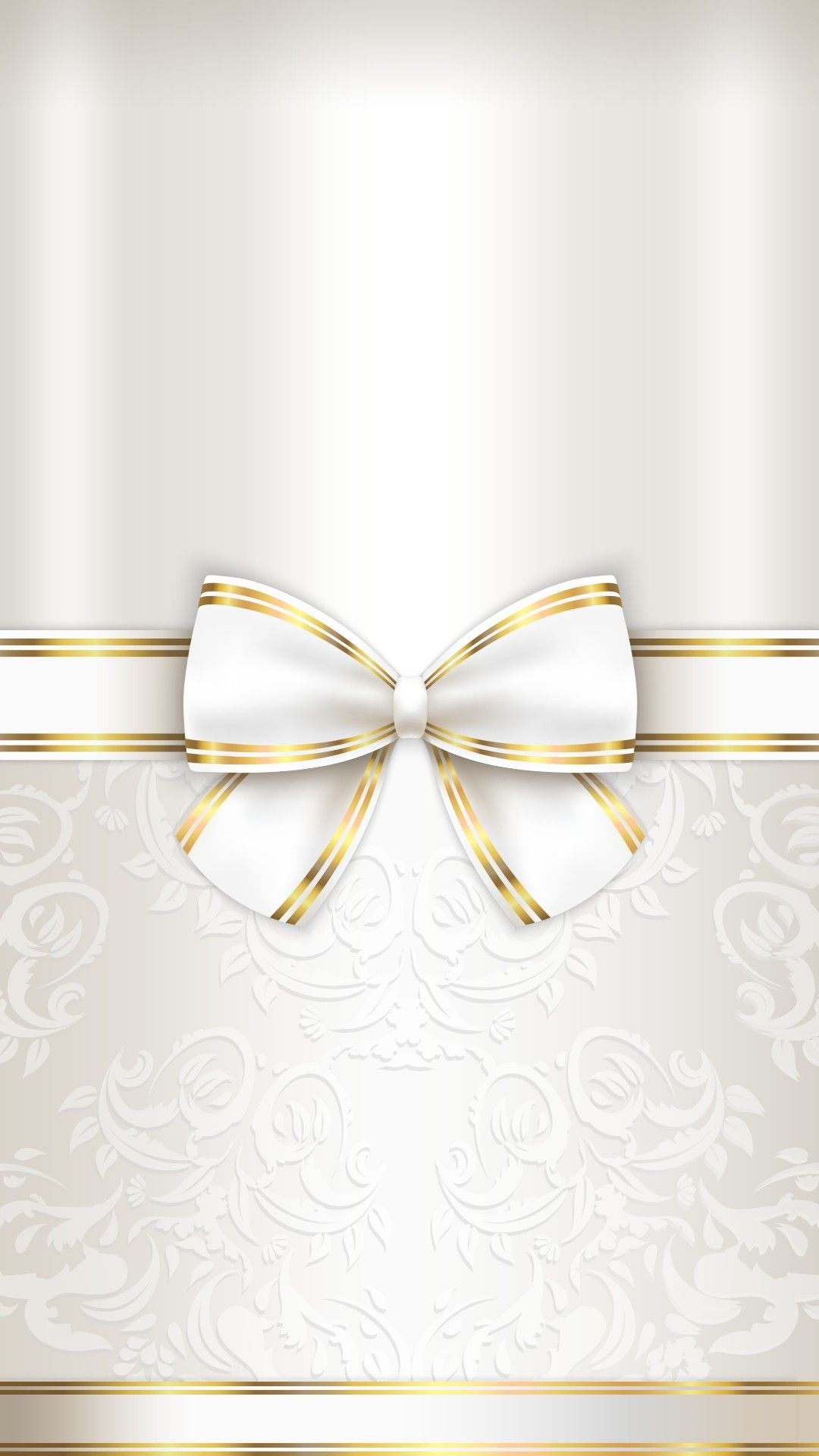 Gold and white ivory cream in 2019 | Bow wallpaper, Bling ...