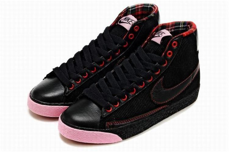Rose Nike Blazer Noir Élevé