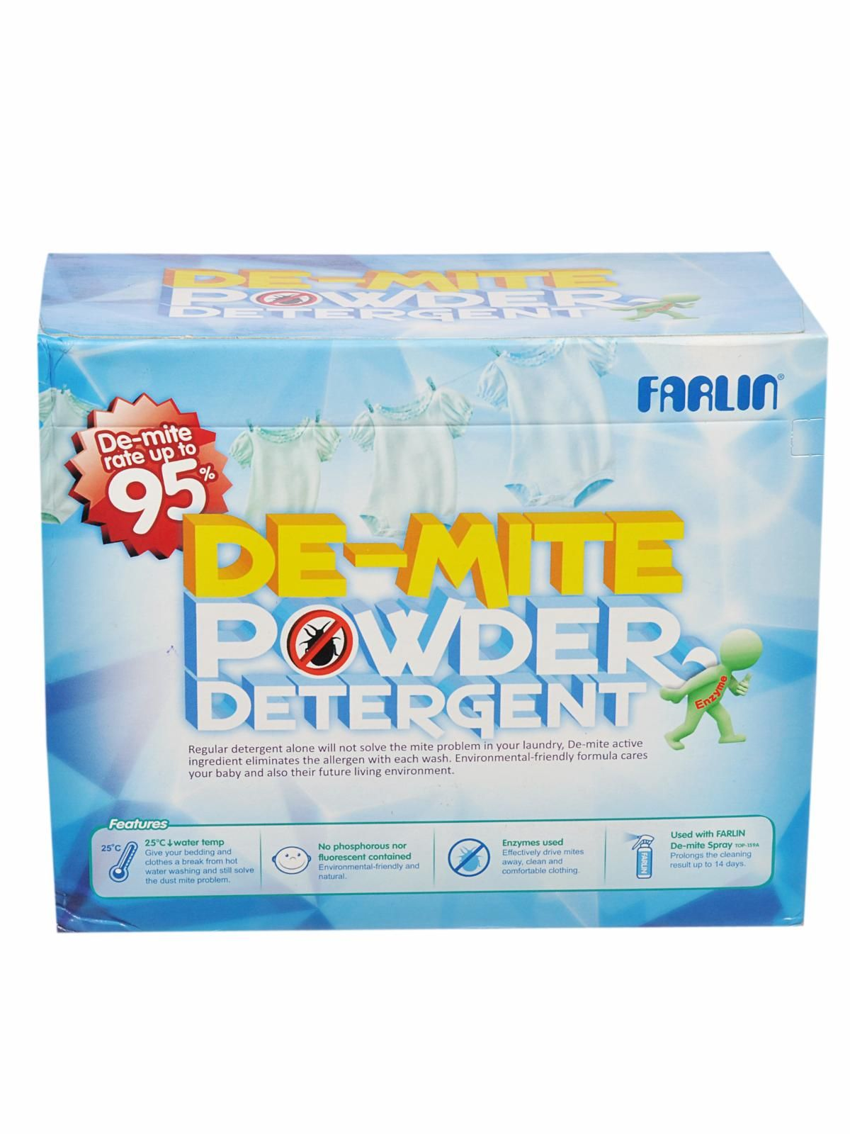 De Mite Powder Detergent 1 2 Kg Farlin Prices And Reviews