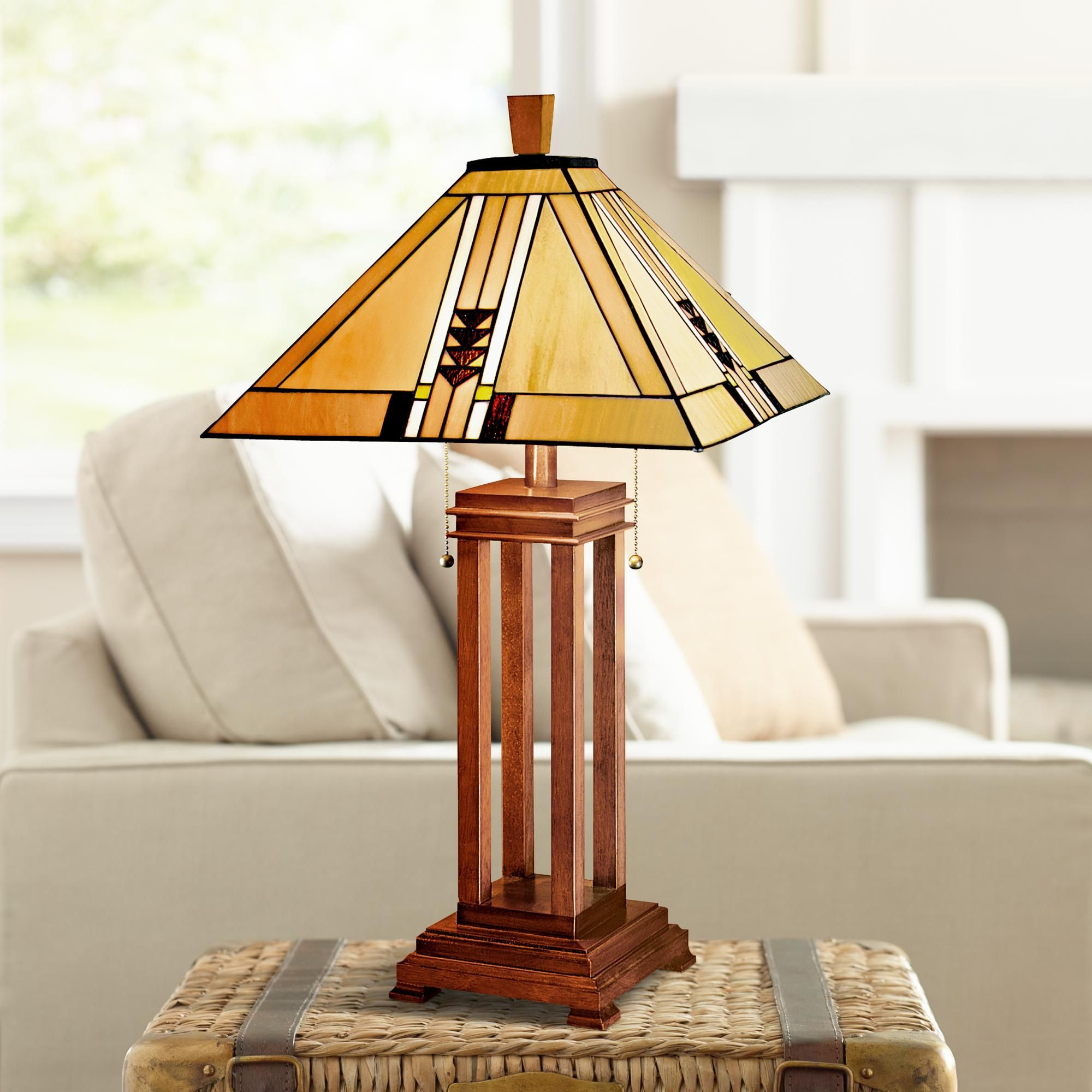 Table Lamps Mission Prairie Table Lamp By Robert Louis Tiffany Tiffany Style Table Lamps Art Deco Table Lamps Mission Style Lighting