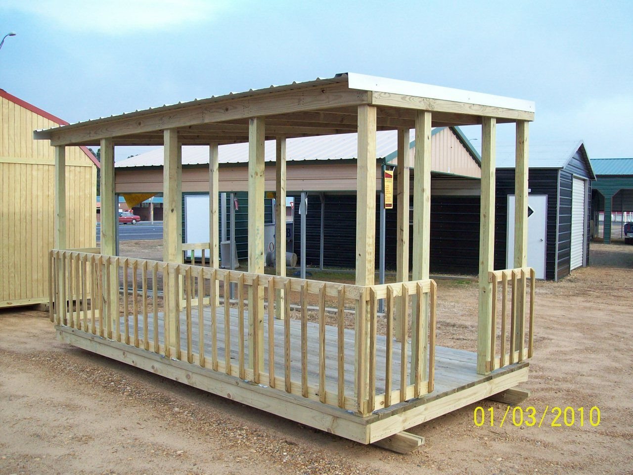 My Next Plan Was To Build A Deck For The Trailer, Freestanding Of Course,