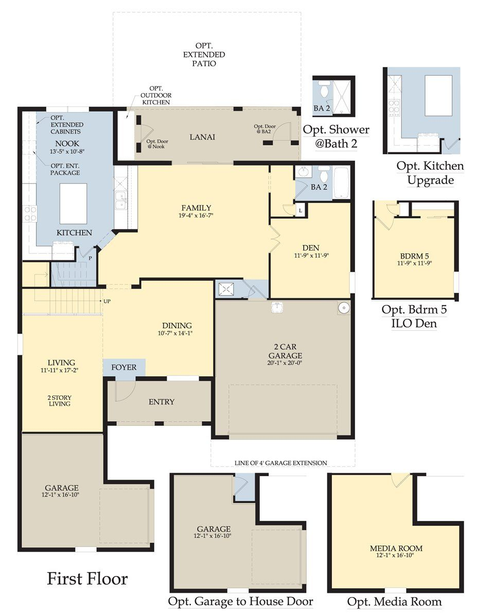 4 Bedrooms Upstairs Or 3 With Owners Sitting